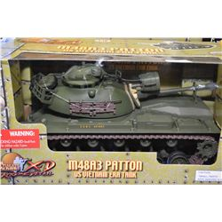 New in package Ultimate Soldier 1:18th scale M48 A3 US Vietnam era tank