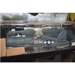 New in box Military Series 1:18th scale Chance Vought F4U-1A Corsair USMC VMF-214 Black sheep