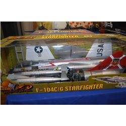 New in box Ultimate Soldier 1:18th scale F-104 C/G Starfighter