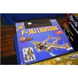New in box Ultimate Soldier 1:18th scale P-38J Lightening