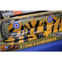 New in package Ultimate Soldier 1:18th scale F-104C/ G Starfighter