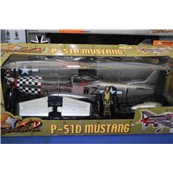 New in package Ultimate Soldier 1:18th scale P-51D Mustang Big Beautiful Doll