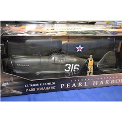 New in package Ultimate Soldier 1:18th scale P-47B Tomahawk Lt. Taylor and Lt. Welch, Special editio