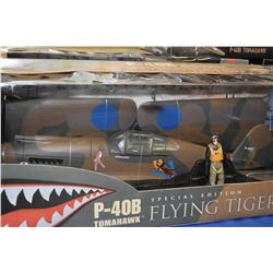 New in box The Ultimate Soldier 1:18th scale P-40B Tomahawk, Special edition 'Flying Tigers'