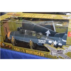 New in box The Ultimate Soldier 1:18th scale TBF-1 Avenger fighter plane