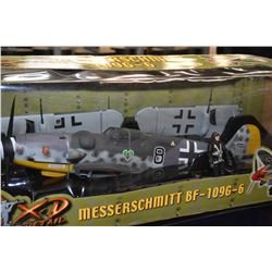 New in box The Ultimate Soldier 1:18th scale Meisserschmitt BF-109G-6 fighter plane