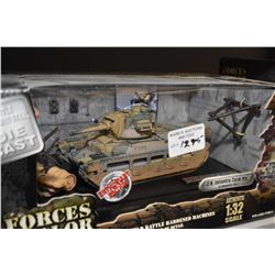 New in box 1:32nd scale Forces of Valor die-cast German UK Infantry Tank MK II