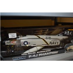 New in box Elite Force 1:32nd scale US Navy F-4J Phantom jet fighter