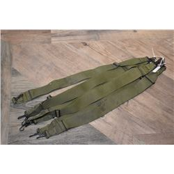 Seven military rifle slings