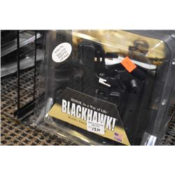 New in package Black Hawk Tactical holster for Glock 17/19/22/23/31/32 left hand