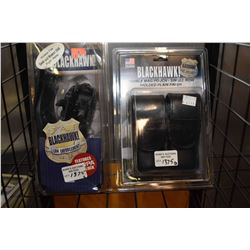 New in package Black Hawk Tactical holster for Smith & Wesson 5946 right hand and a double mag pouch
