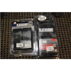 New in package Black Hawk holster for Glock 17/19/22/23/31/32 right hand a double mag pouch