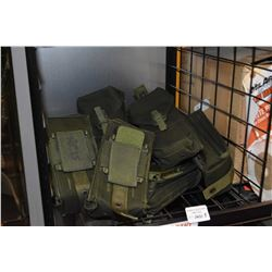 Ten brand new military mag pouches