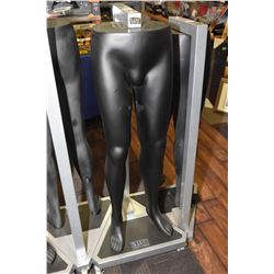 511 Tactical Series lower torso pants display on wheeled display stand