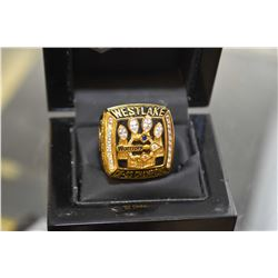 Legend Ring reproduction ring West Lake Champions-The Warriors