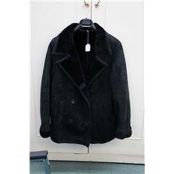 Holt Renfrew genuine suede jacket and wool jacket