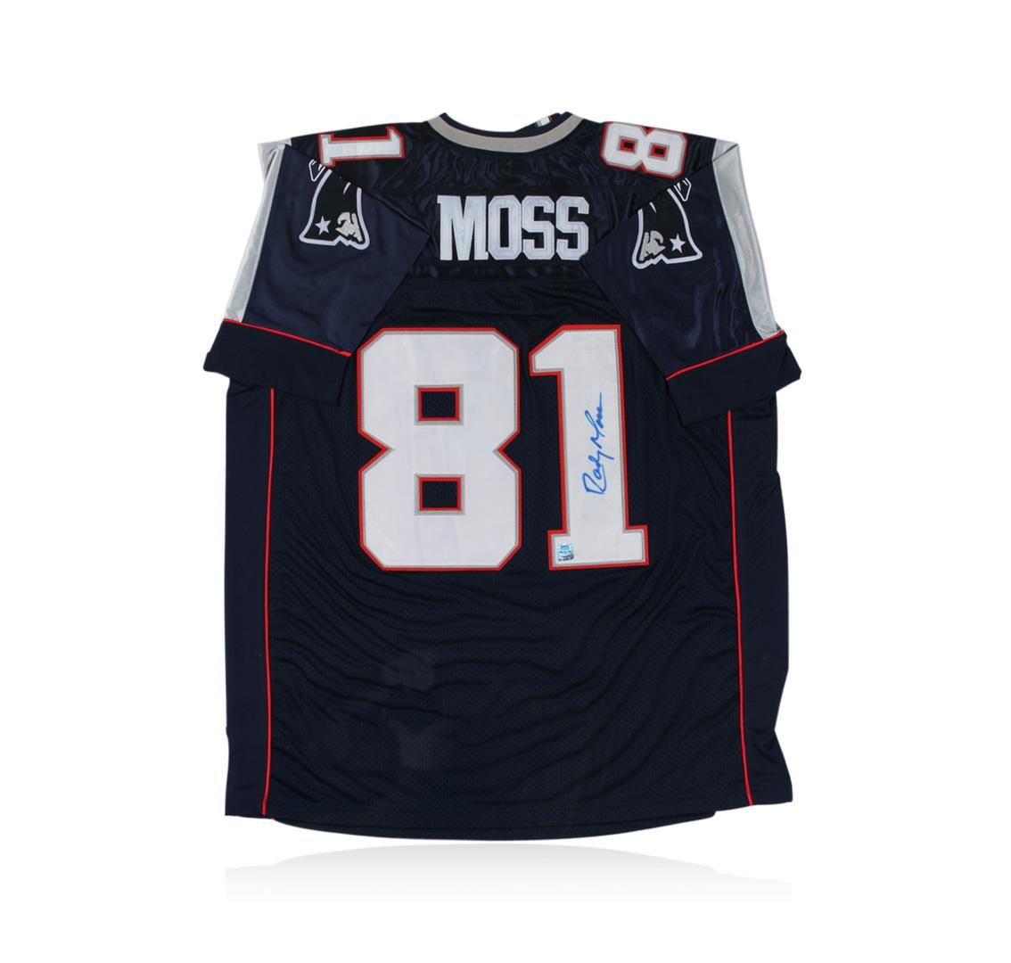 New England Patriots Randy Moss Autographed Jersey