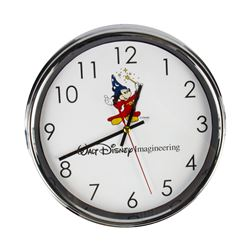 Walt Disney Imagineering Sorcerer Mickey Wall Clock.