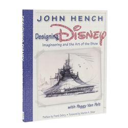 "John Hench ""Designing Disney"" First Edition Hardcover."