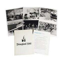 1991 Disneyland Hotel Refurbishment Press Packet.