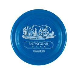 "Disneyland Hotel ""Monorail Cafe"" Flying Disk Toy."