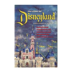 1955 The Story of Disneyland with a Complete Guide.
