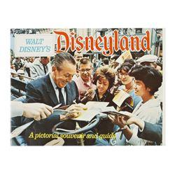1968 Disneyland Pictorial Souvenir Guide Book.