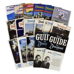Set of (17) Disneyland Guides.