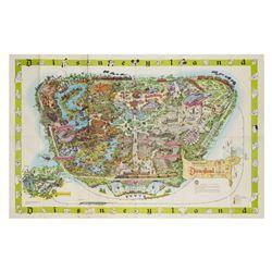 1964-A Disneyland Souvenir Map.