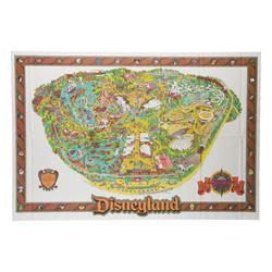 1989 Disneyland Souvenir Map.