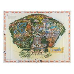 2000 Disneyland Souvenir Map.