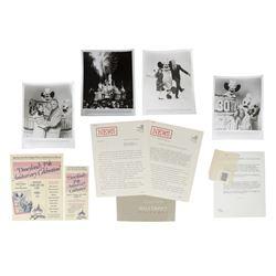 Disneyland 30th Anniversary Press Packet.
