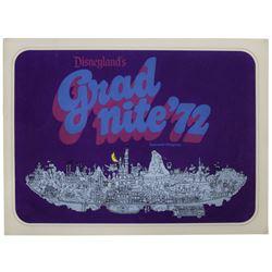 Grad Nite '72 Souvenir Program.