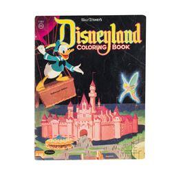 1955 Disneyland Coloring Book.
