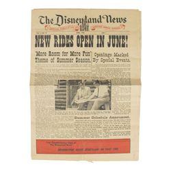 """The Disneyland News"" June 1956."