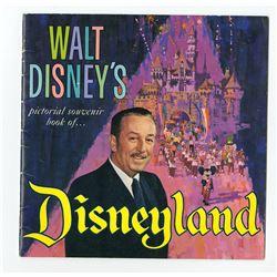 """Walt Disney's Pictorial Souvenir Book of Disneyland""."