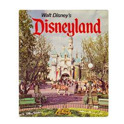 """Walt Disney's Disneyland"" Souvenir Hardcover Book."