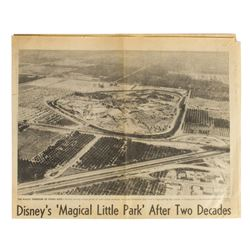 Los Angeles Times 20th Anniversary of Disneyland Issue.