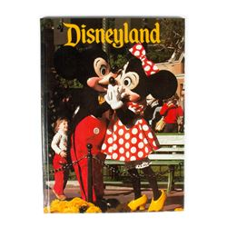 "1979 ""Disneyland"" Hardcover Photo Book."