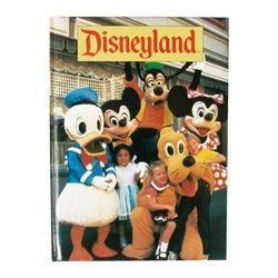 "1990 ""Disneyland"" Hardcover Photo Book."