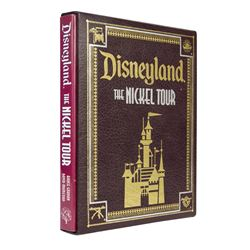 """Disneyland The Nickel Tour"" Signed Book in Slipcase."