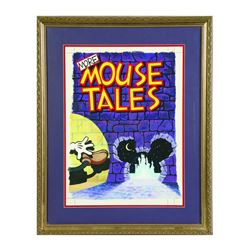 "Original Book Cover Art for ""More Mouse Tales""."