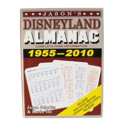 """Jason's Disneyland Almanac"" Signed Hardcover."