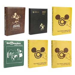 Collection of (6) Disney Telephone Directories.