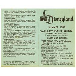 "Disneyland Cast Member ""Wallet Fact Card""."