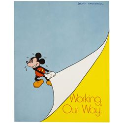 """Working Our Way"" Cast Member Booklet."