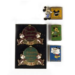 Set of (5) Warehousing & Distribution Employee Pins.
