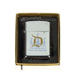 Disneyland Zippo Slim Lighter in Box.