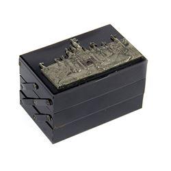 Sleeping Beauty Castle Three-Tier Jewelry Box.