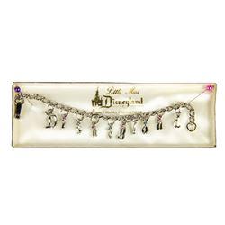 "Disneyland ""Little Miss"" 10-Charm Bracelet."